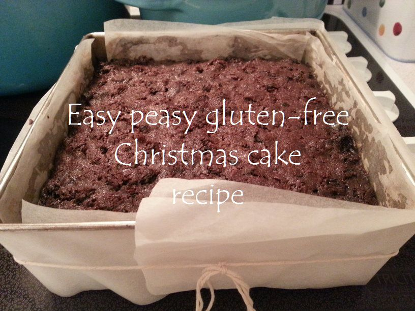 gluten free recipes for christmas cake