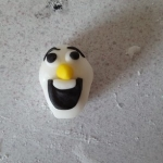 Fondant Olaf 8