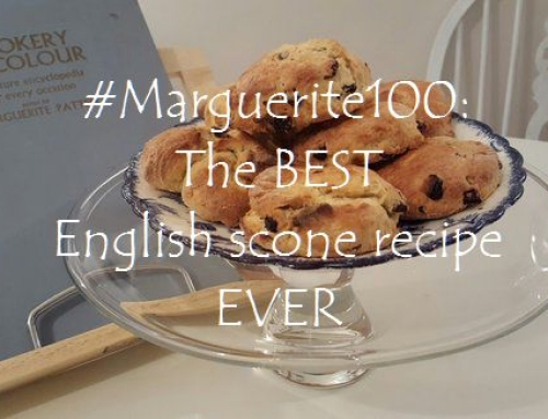 #Marguerite100: The BEST English scone recipe EVER
