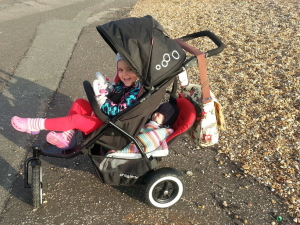 Pushchair army