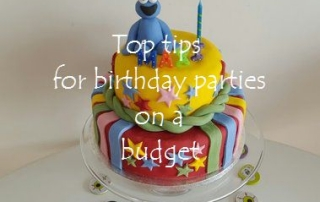 Tips for birthday parties on a budget main featured