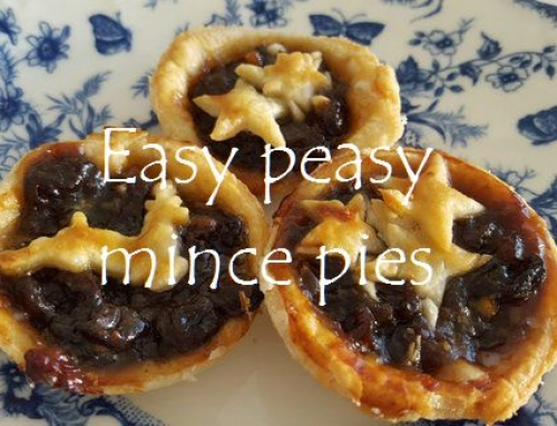 Easy peasy mince pies