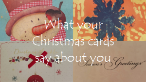 What your Christmas cards say about you featured