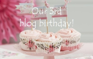 3rd blog birthday
