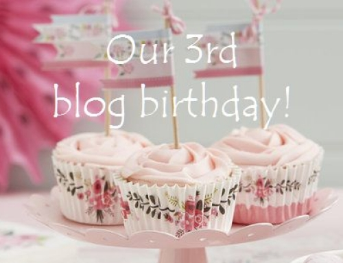 Our 3rd blog birthday: WIN £150 worth of prizes!