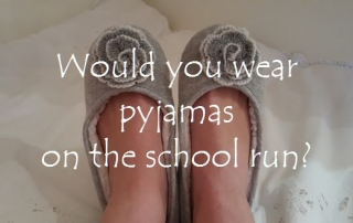Would you wear pyjamas on the school run