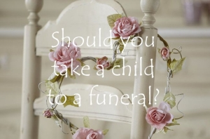 Should you take a child to a funeral