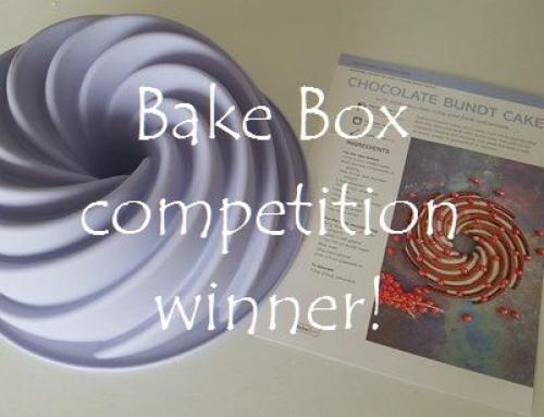 Bake Box competition winner!