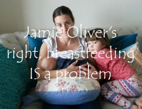 Jamie Oliver's right, breastfeeding IS a problem