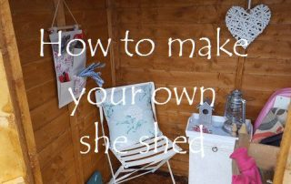 How to make your own she shed