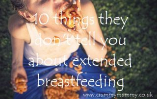 10 things they don't tell you about extended breastfeeding