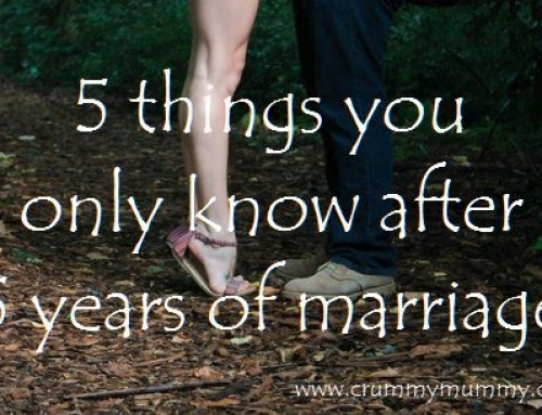 5 things you only know after 5 years of marriage
