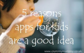 5 reasons apps for kids are a good idea