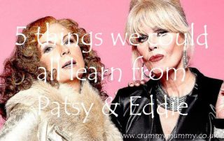 5 things we could all learn from Patsy & Eddie