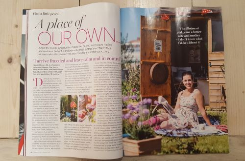 Why my allotment makes me a better mum - Prima magazine