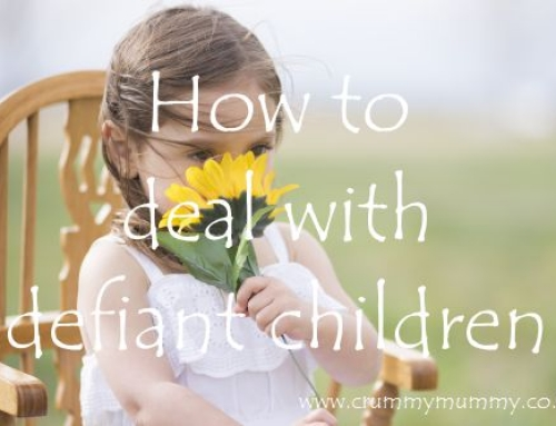 How to deal with defiant children