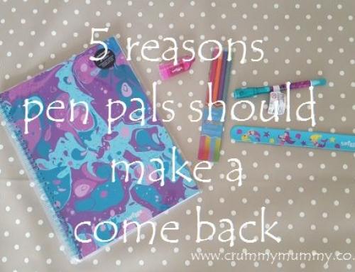 5 reasons pen pals should make a come back