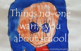Things no-one warns you about school