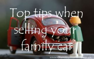 Top tips when selling your family car
