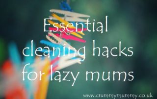 Essential cleaning hacks for lazy mums