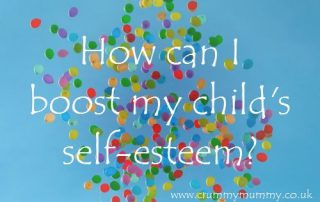How can I boost my child's self-esteem?