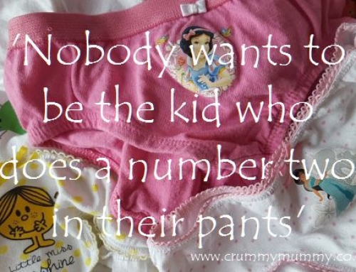 'Nobody wants to be the kid who does a number two in their pants' #ad