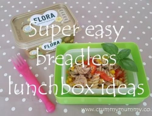 Super easy breadless lunchbox ideas
