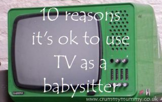 10 reasons it's ok to use TV as a babysitter