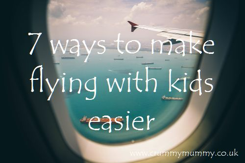 7 ways to make flying with kids easier