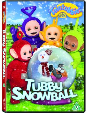 Teletubbies Tubby Snowball DVD competition