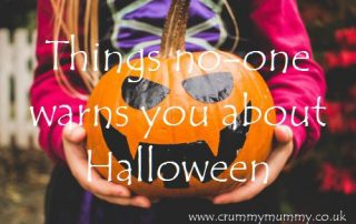 Things no-one warns you about Halloween
