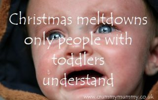 Christmas meltdowns only people with toddlers understand