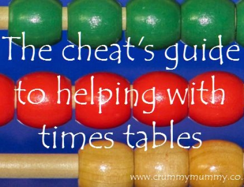 The cheat's guide to helping with times tables