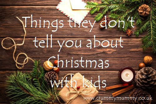 Things they don't tell you about Christmas with kids