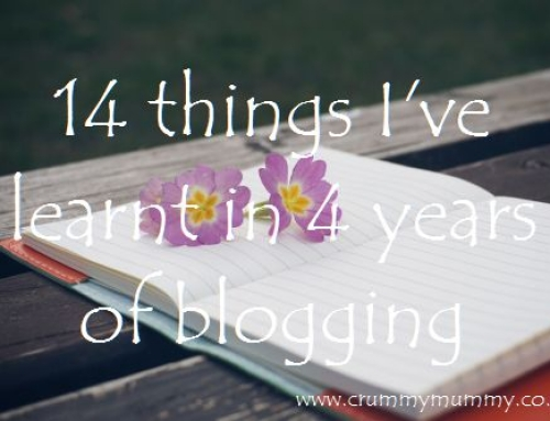14 things I've learnt in 4 years of blogging
