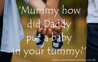 Mummy how did Daddy put a baby in your tummy?