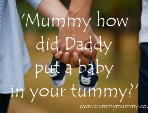 'Mummy how did Daddy put a baby in your tummy?'