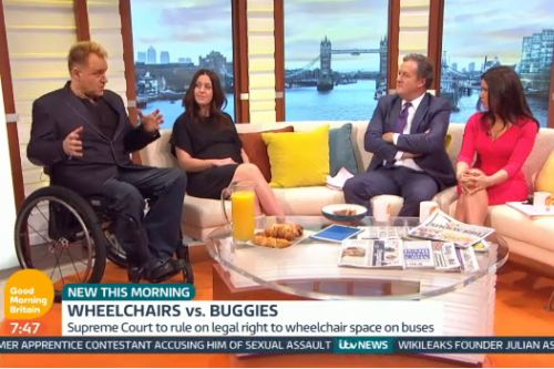 My Good Morning Britain debut