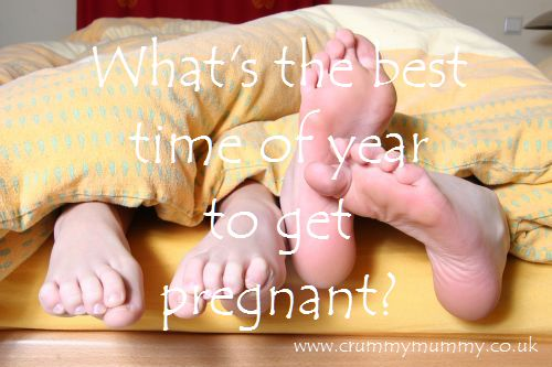 What's the best time of year to get pregnant?