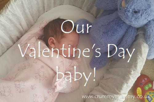 Our Valentine's Day baby!