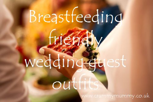 Breastfeeding friendly wedding guest outfits main