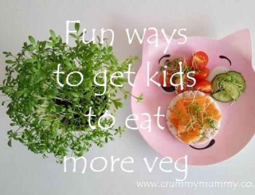 Fun ways to get kids to eat more veg #ad