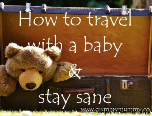 How to travel with a baby and stay (relatively) sane