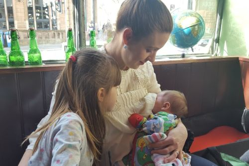 Why I'm proud to breastfeed in the pub 2