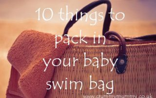 10 things to pack in your baby swim bag