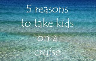 5 reasons to take kids on a cruise