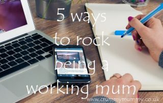 5 ways to rock being a working mum
