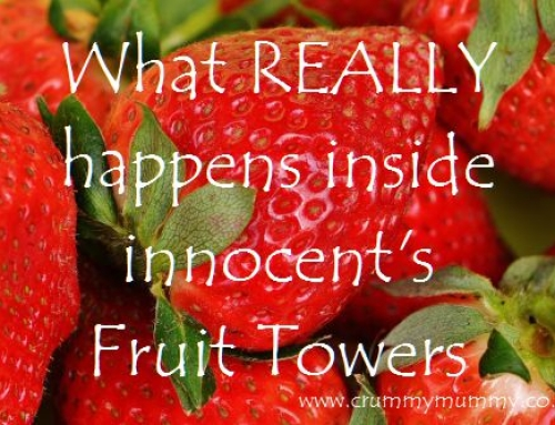 What REALLY happens inside innocent's Fruit Towers #ad