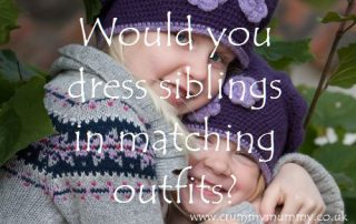 Would you dress siblings in matching outfits