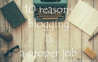 10 reasons blogging IS a proper job